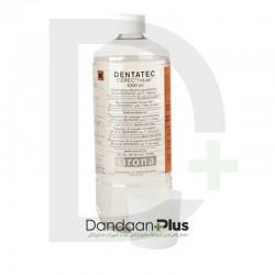 مایع تمیزکننده و روان کننده دستگاه مدل DENTATEC Cleaner & Lubricant 1000 mL دنتسپلای سیرونا