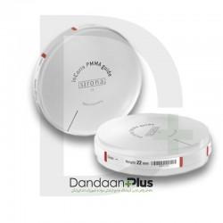 دیسک راهنما مدل inCoris PMMA guide disc22 دنتسپلای سیرونا
