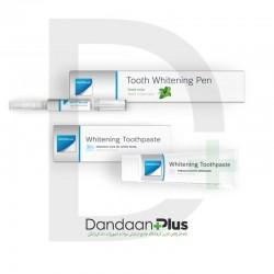 پکیج بلیچینگ خانگی White Smile- Whitening Pen & Toothpaste