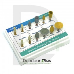 کیت Polibur - Diamond Polishing Kit For Zirconia