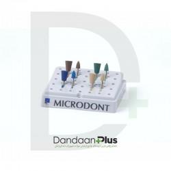 کیت پولیش آمالگام 8 عددی Microdont- Abrasive Silicon Amalgam Kit