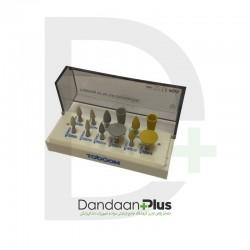 کیت مولت پرداخت زیرکونیا(آنگل) Toboom-Zirconia Polishing Kit