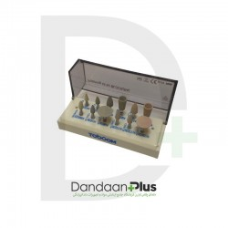 کیت مولت پرداخت پرسلن (آنگل) Toboom-Pressible Porcelain Polishing Kit