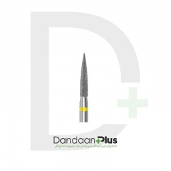 فرز الماسه تراش 5 عددی زرد Dentalree- Flame 862XF